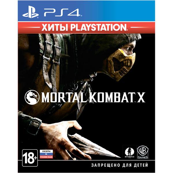 PS4 игра WB — Mortal Kombat X. Хиты PlayStation