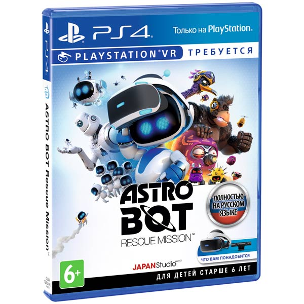 PS4 игра Sony ASTRO BOT Rescue Mission (только для PS VR)