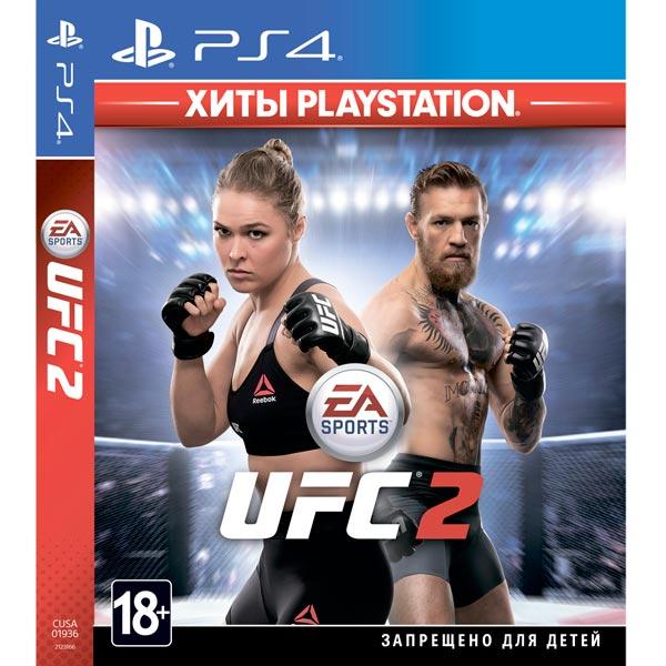 PS4 игра EA — UFC 2. Хиты PlayStation