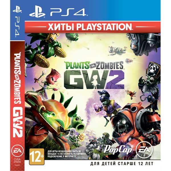 PS4 игра EA Plants vs Zombies GardenWarfare 2.ХитыPlayStation фото