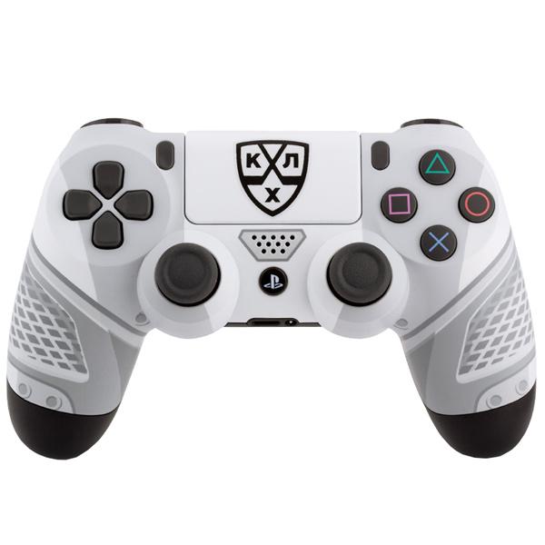 Геймпад для консоли PS4 PlayStation 4 Rainbo DualShock 4 КХЛ Все Хоккей