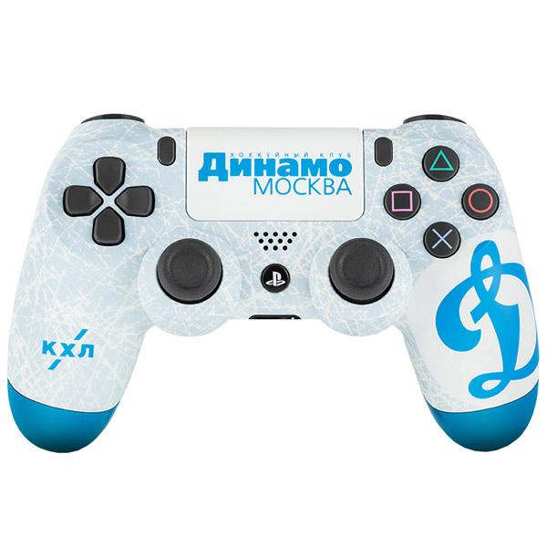 Геймпад для консоли PS4 PlayStation 4 Rainbo — DualShock 4 КХЛ Динамо Москва