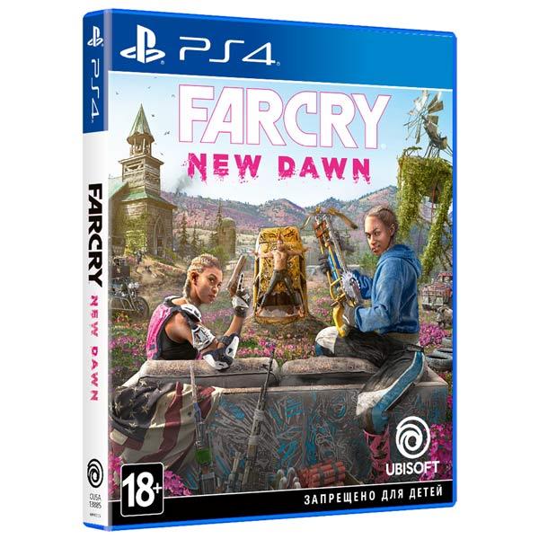 PS4 игра Ubisoft Far Cry New Dawn