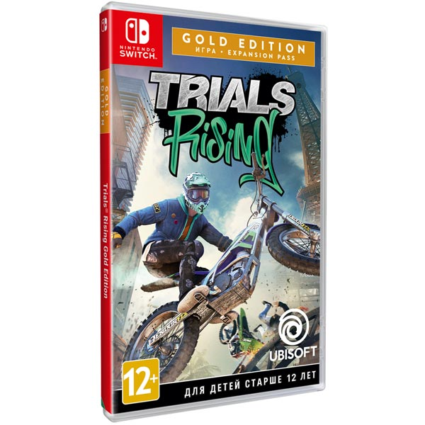 Игра Nintendo Switch Trials Rising Gold Ubisoft фото