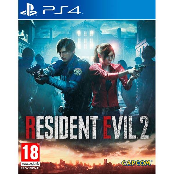 PS4 игра Capcom Resident Evil 2 фото
