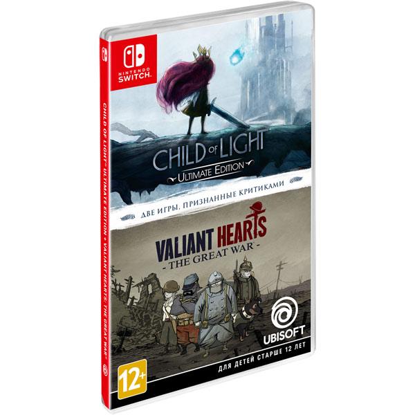 Nintendo Switch игра Nintendo Child Of Light+Valiant Hearts Ubisoft Nintendo Switch игра Nintendo Child Of Light+Valiant Hearts