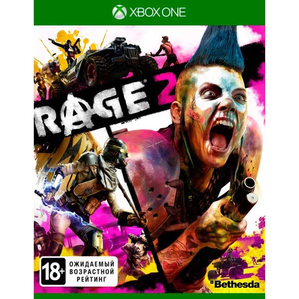 Xbox One игра Bethesda — RAGE 2