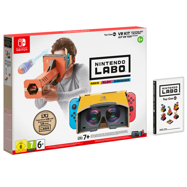 Switch игра Nintendo Labo: VR Kit - Starter Set+Blaster Switch игра Nintendo Labo: VR Kit - Starter Set+Blaster