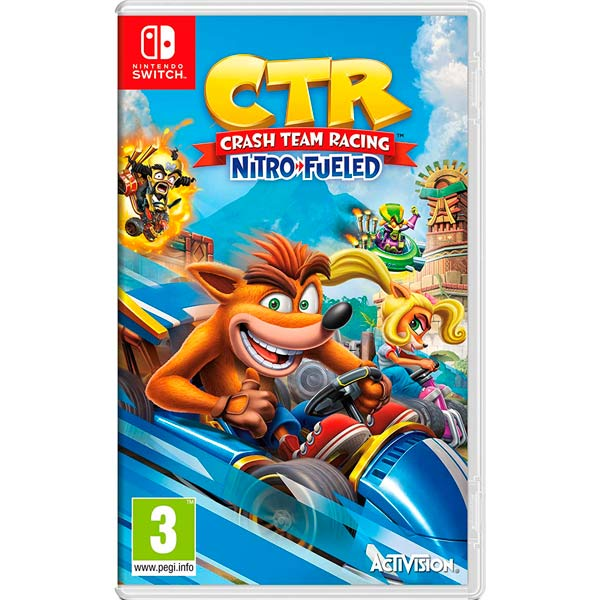 Игра Activision Nintendo Crash Team Racing Nitro-Fueled