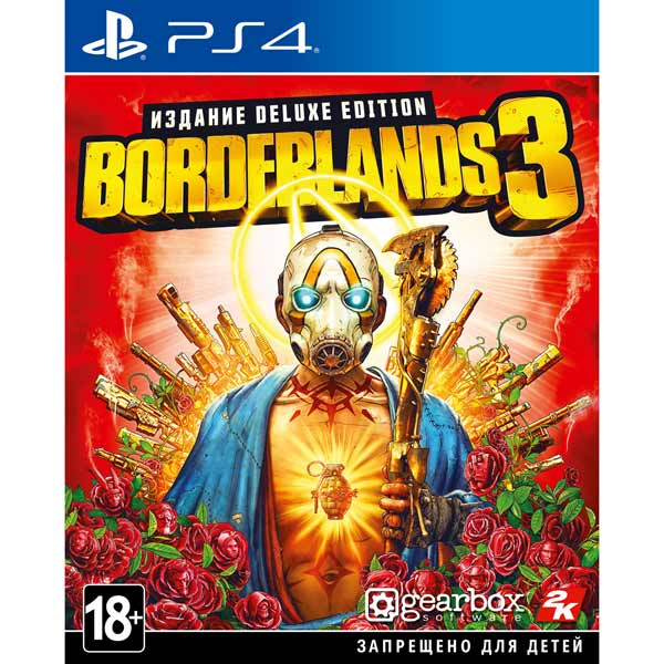 PS4 игра Take-Two Borderlands 3. Deluxe Edition фото