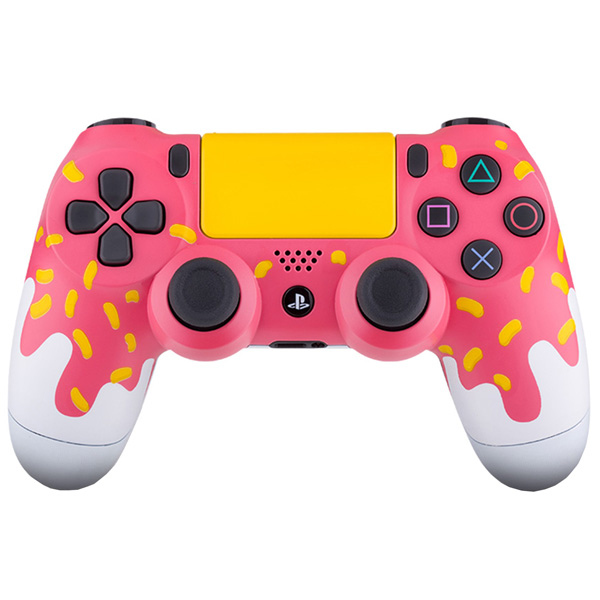 Геймпад для консоли PS4 PlayStation 4 Rainbo DualShock 4 Honey