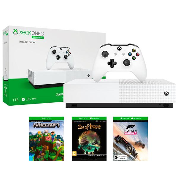 Игровая консоль Xbox One Microsoft S 1TB All Digital ольга громыко космоолухи рядом том 2 цифровая версия цифровая версия