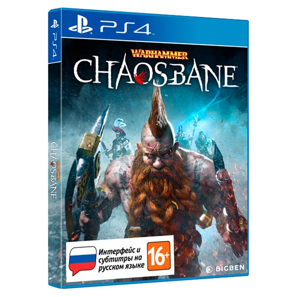 PS4 игра Bigben Interactive Warhammer: Chaosbane