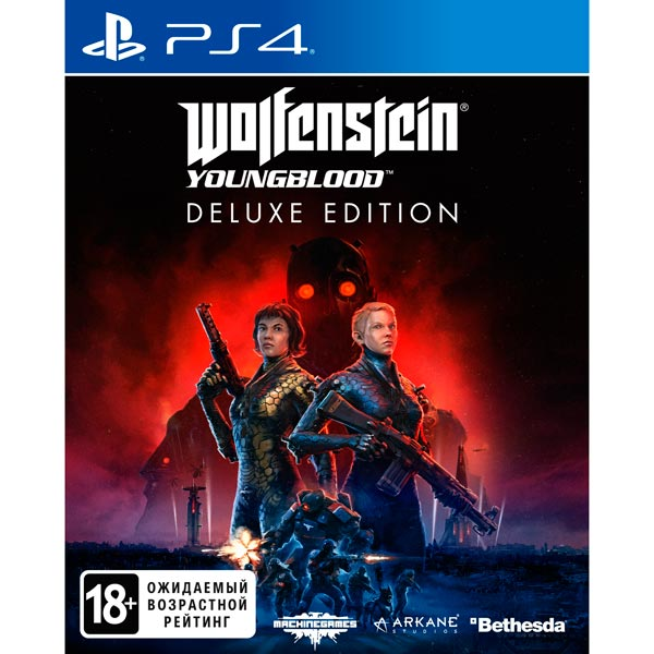 PS4 игра Bethesda Wolfenstein: Youngblood. Deluxe Edition