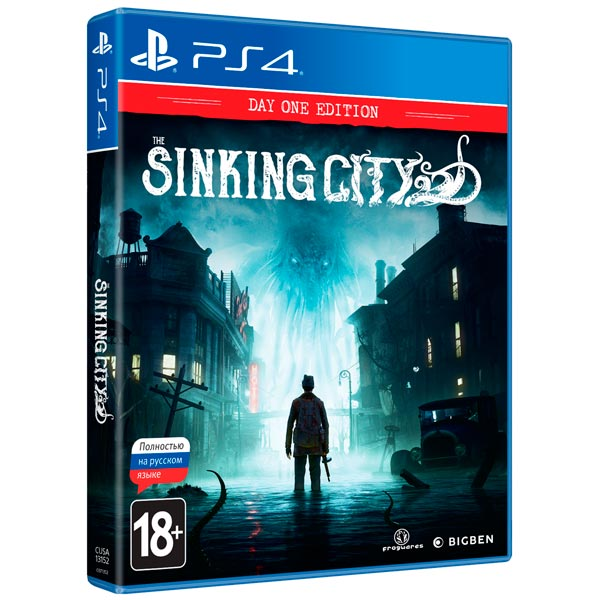 PS4 игра Bigben Interactive The Sinking City. Day One Edition фото