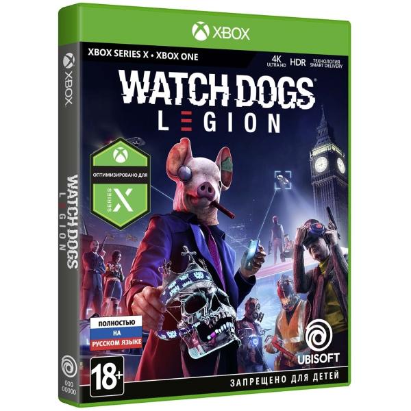 Xbox One игра Ubisoft — Watch_Dogs: Legion