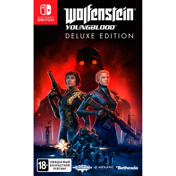 Switch игра Bethesda Wolfenstein: Youngblood. Deluxe Edition