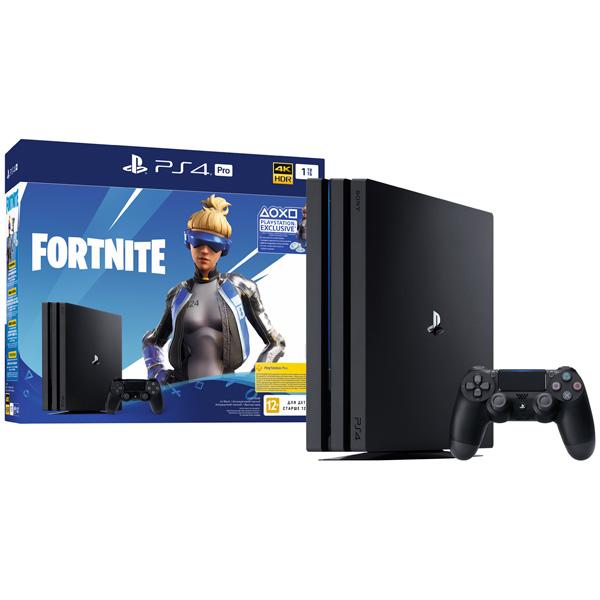 Купить Игровая консоль PS4 PlayStation 4 Pro 1TB+Fortnite в каталоге интернет магазина М.Видео по выгодной цене с доставкой, отзывы, фотографии - Уфа