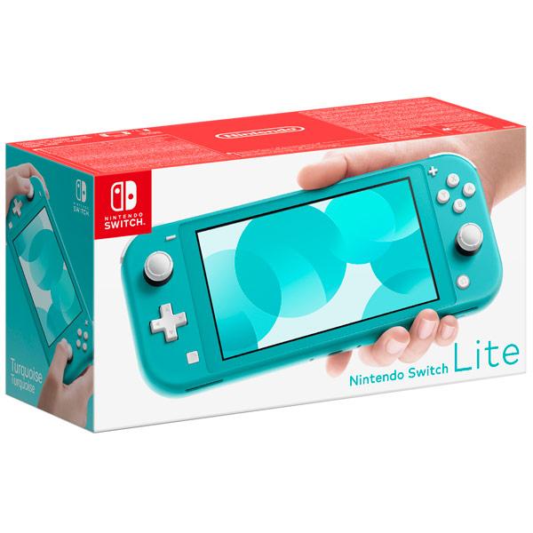 Игровая приставка Nintendo Switch Lite бирюзовый