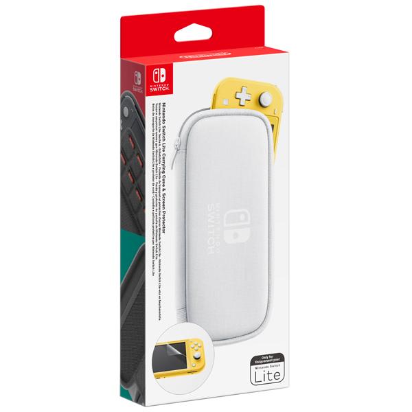 Аксессуар для игровой приставки Nintendo — Чехол и пленка для Switch Lite