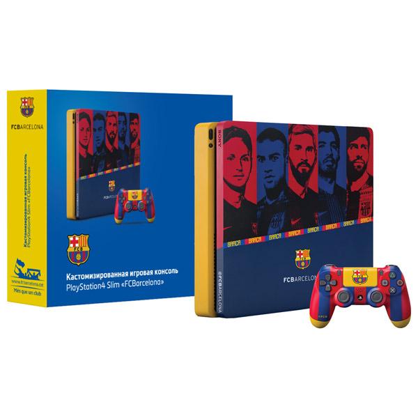 Игровая консоль PlayStation 4 Rainbo 1TB Барселона. Камп Ноу