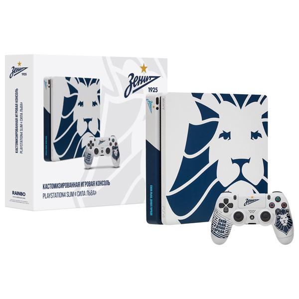 Игровая консоль PlayStation 4 Rainbo — 1TB Zenit. Сила Льва