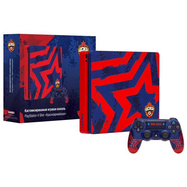 Игровая консоль PlayStation 4 Rainbo 1TB ЦСКА. Красноармейская