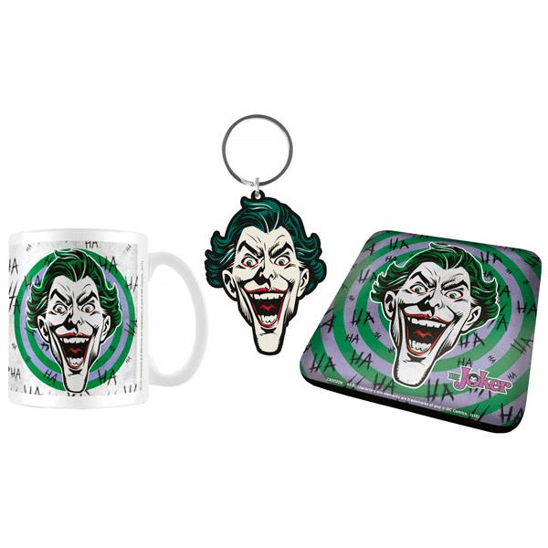 Сувенир Pyramid Кружка+Подставки+Брелок DC: The Joker HaHaHa