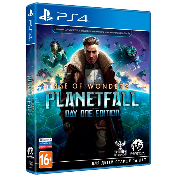 PS4 игра Paradox Interactive Age of Wonders: Planetfall. Day One Edition фото