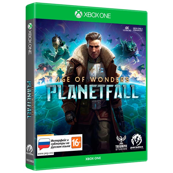 Xbox One игра Paradox Interactive Age of Wonders: Planetfall Издание 1-го дня фото