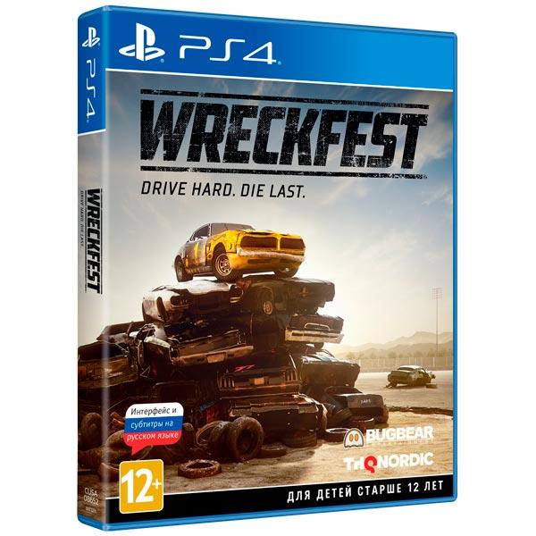 PS4 игра THQ Nordic Wreckfest фото