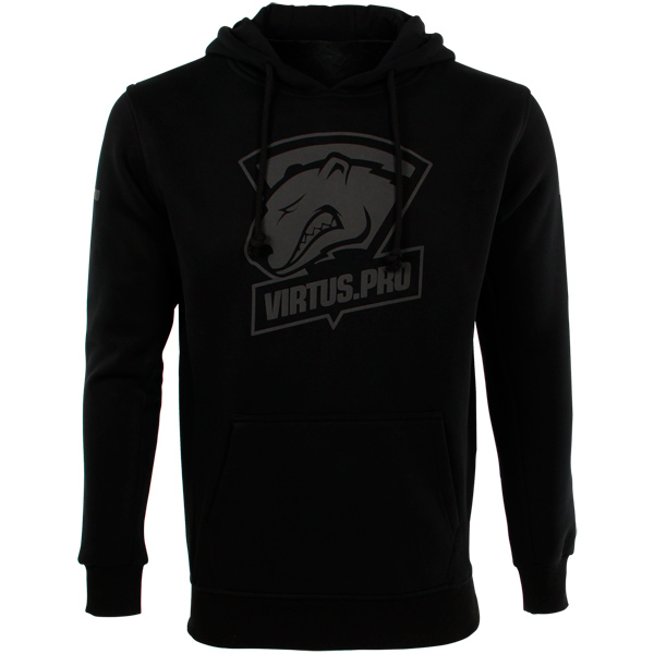 Худи мужское Virtus.pro Black/Grey XS FVPBKHOOD17BK00XS