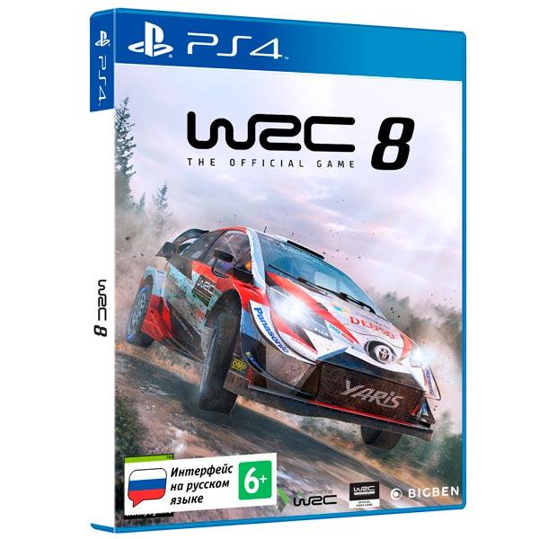PS4 игра Bigben Interactive WRC 8