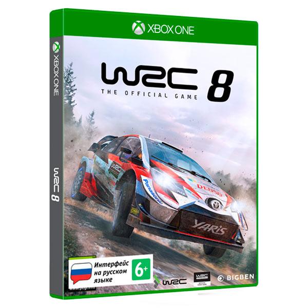 Xbox One игра Bigben Interactive WRC 8