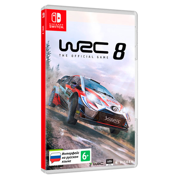 Игра Bigben Interactive Nintendo WRC 8 фото