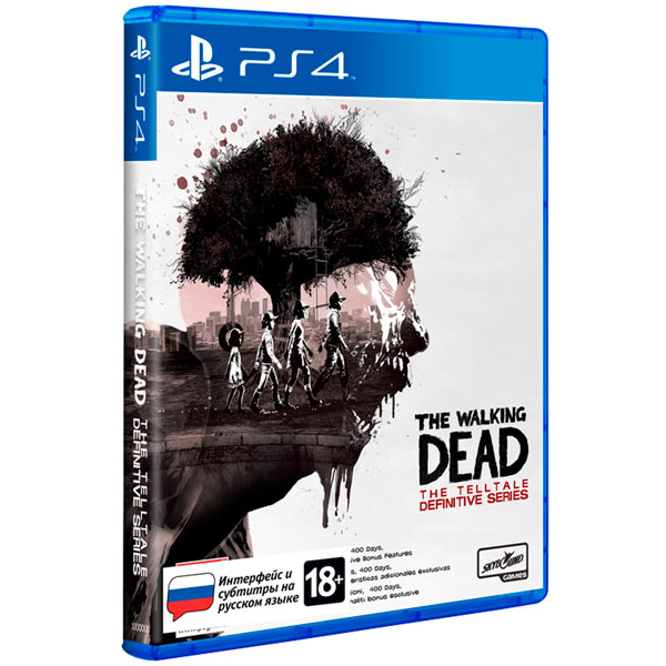 PS4 игра Epic Games The Walking Dead: The Telltale Definitive Series фото