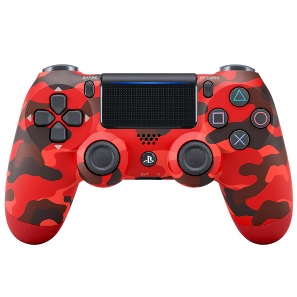 Геймпад для консоли PS4 PlayStation DualShock v2 Red Camouflage (CUH-ZCT2E)