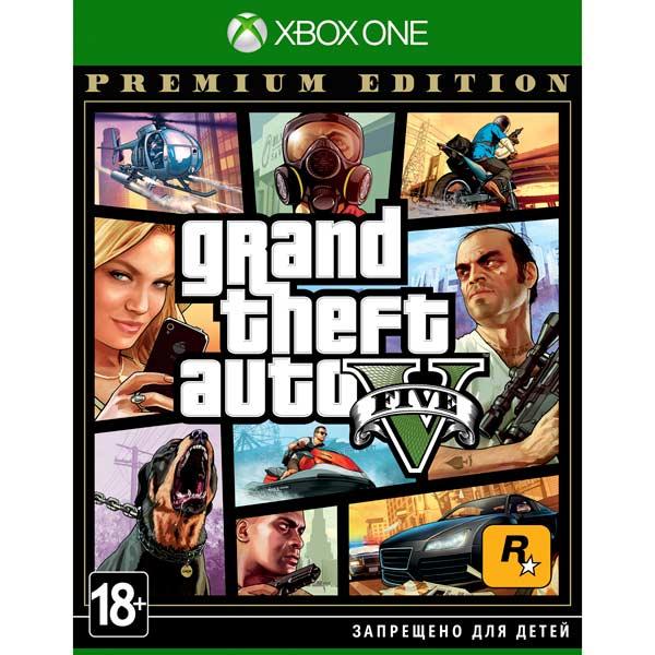 Xbox One игра Take-Two Grand Theft Auto V. Premium Edition