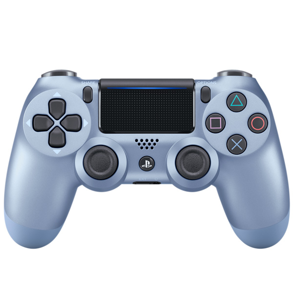 Геймпад для консоли PS4 PlayStation DualShock v2 Titanium Blue (CUH-ZCT2E)