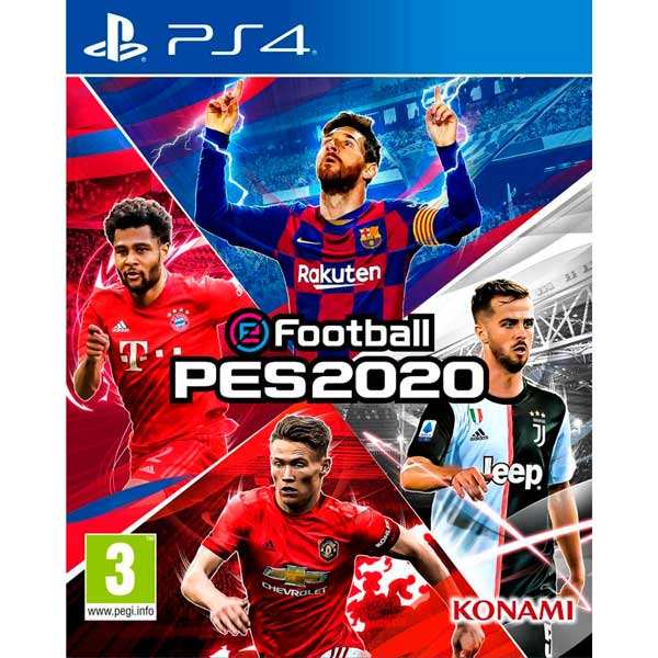 PS4 игра Konami Pro Evolution Soccer 2020