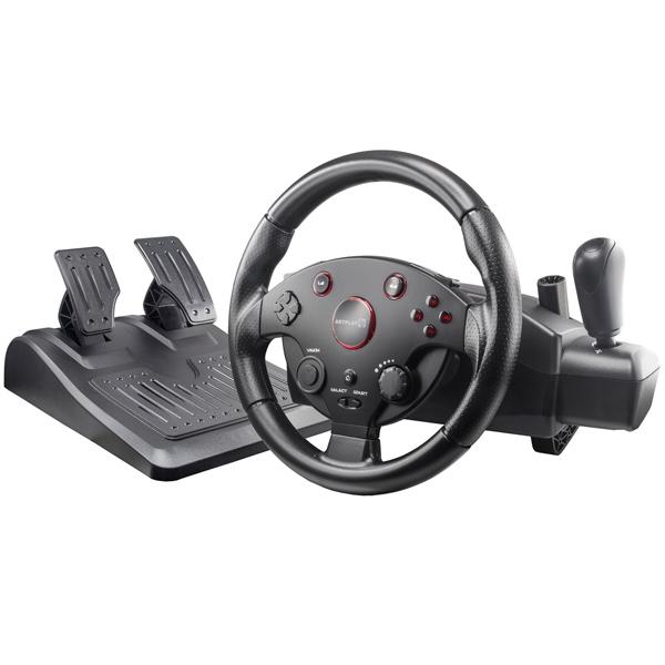 Аксессуар для игровой консоли Artplays — Руль Street Racing Wheel (Turbo C900)