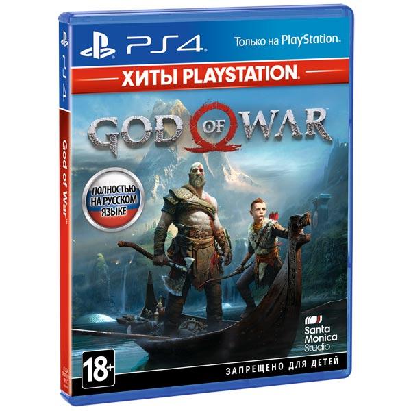 PS4 игра Sony — God of War. Хиты PlayStation
