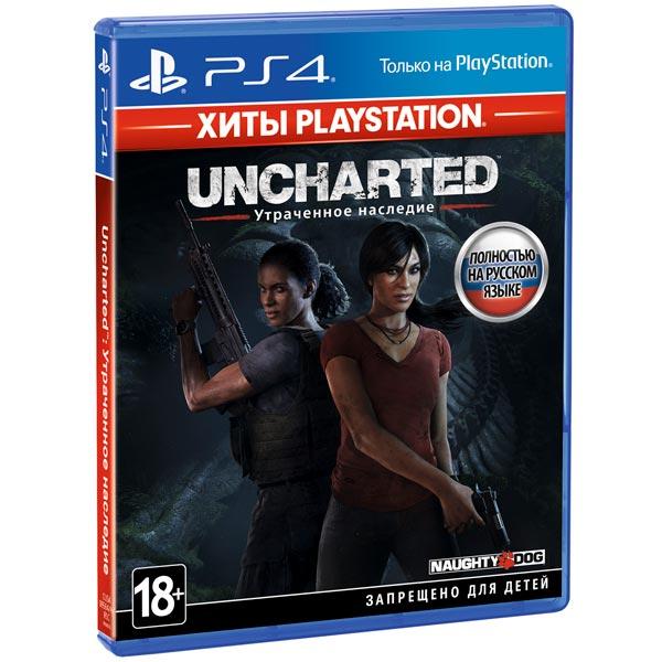 PS4 игра Sony Uncharted: Утраченное наследие. Хиты PlayStation