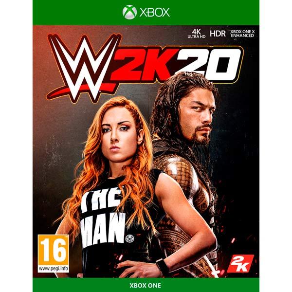 Xbox One игра Take-Two WWE 2K20 Take Two — Xbox One игра Take-Two WWE 2K20