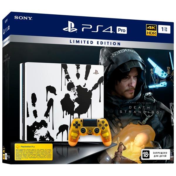Купить Игровая консоль PS4 PlayStation 4 Pro 1TB LE + Death Stranding в каталоге интернет магазина М.Видео по выгодной цене с доставкой, отзывы, фотографии - Казань