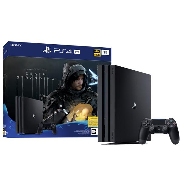 Купить Игровая консоль PS4 PlayStation 4 Pro 1TB + Death Stranding в каталоге интернет магазина М.Видео по выгодной цене с доставкой, отзывы, фотографии - Нижневартовск