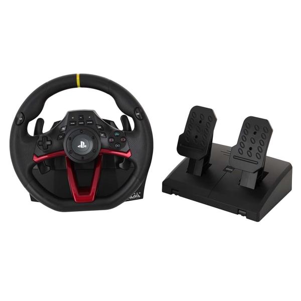 Аксессуар для игровой консоли Hori — Руль Wireless Racing Wheel Apex (PS4-142E)