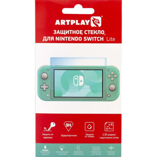 Аксессуар для игровой приставки Artplays Защитное стекло для Nintendo Switch Lite NSL-TG1