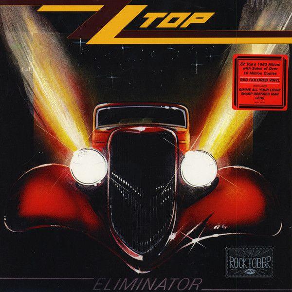 Виниловая пластинка Warner Music Zz Top:Eliminator