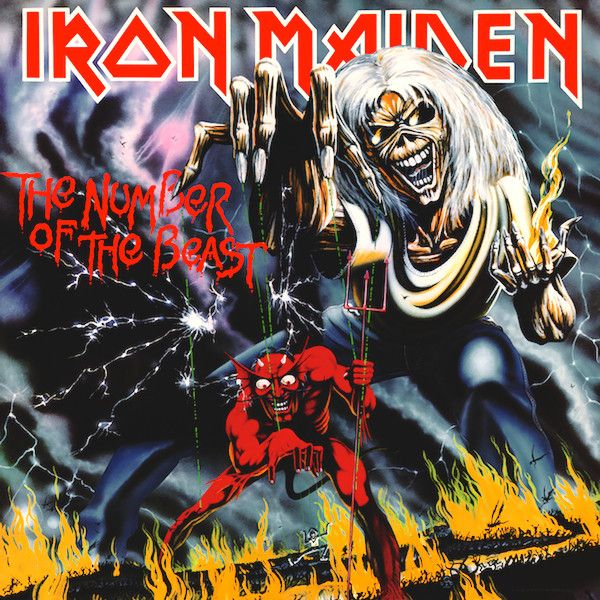 Виниловая пластинка Parlophone Iron Maiden:The Number Of The Beast PARLOPHONE